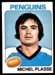 1975 Topps #249  Michel Plasse   Front Thumbnail