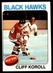1975 Topps #139  Cliff Koroll   Front Thumbnail