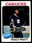 1975 Topps #133  Tracy Pratt   Front Thumbnail