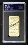 1909 T206 POR Wild Bill Donovan  Back Thumbnail
