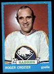 1973 Topps #108  Roger Crozier   Front Thumbnail