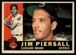1960 Topps #159  Jimmy Piersall  Front Thumbnail