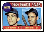 1969 Topps #31   -  Amos Otis / Gary Gentry Mets Rookies Front Thumbnail