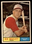 1961 Topps #418  Ed Bailey  Front Thumbnail