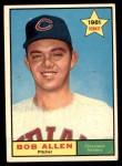 1961 Topps #452  Bob Allen  Front Thumbnail
