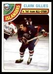 1978 Topps #220   -  Clark Gillies All-Star Front Thumbnail
