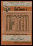 1978 Topps #95  Gilles Gilbert  Back Thumbnail