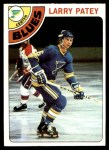 1978 Topps #8  Larry Patey  Front Thumbnail