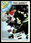 1978 Topps #185  Fred Barrett  Front Thumbnail