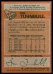 1978 Topps #127  Ian Turnbull  Back Thumbnail