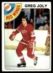 1978 Topps #148  Greg Joly  Front Thumbnail