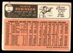 1966 Topps #8  Floyd Robinson  Back Thumbnail