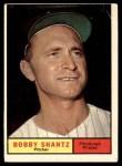1961 Topps #379  Bobby Shantz  Front Thumbnail