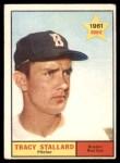 1961 Topps #81  Tracy Stallard  Front Thumbnail