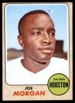 1968 Topps #144  Joe Morgan  Front Thumbnail