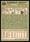 1967 Topps #75  George Scott  Back Thumbnail