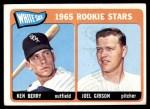 1965 Topps #368   -  Ken Berry / Joel Gibson White Sox Rookies Front Thumbnail