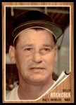 1962 Topps #121 GRN Billy Hitchcock  Front Thumbnail