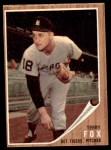 1962 Topps #196 GRN Terry Fox  Front Thumbnail