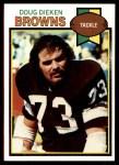 1979 Topps #329  Doug Dieken  Front Thumbnail