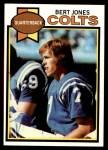 1979 Topps #220  Bert Jones  Front Thumbnail