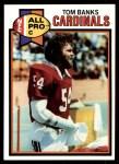 1979 Topps #295   -  Tom Banks All-Pro Front Thumbnail