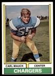 1974 Topps #477  Carl Mauck  Front Thumbnail