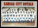 1970 Topps #422   Royals Team Front Thumbnail
