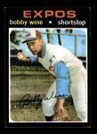 1971 Topps #171  Bobby Wine  Front Thumbnail