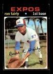 1971 Topps #315  Ron Fairly  Front Thumbnail