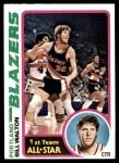 1978 Topps #1  Bill Walton  Front Thumbnail