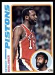 1978 Topps #125  Bob Lanier  Front Thumbnail