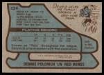 1979 Topps #224  Dennis Polonich  Back Thumbnail