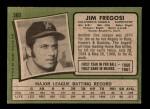 1971 Topps #360  Jim Fregosi  Back Thumbnail
