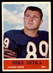 1964 Philadelphia #17  Mike Ditka    Front Thumbnail