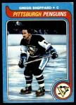 1979 Topps #172  Gregg Sheppard  Front Thumbnail