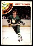 1978 O-Pee-Chee #163  Harvey Bennett  Front Thumbnail