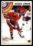 1978 O-Pee-Chee #180  Jacques Lemaire  Front Thumbnail