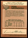 1978 O-Pee-Chee #102  Pierre Mondou  Back Thumbnail