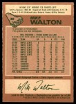 1978 O-Pee-Chee #38  Mike Walton  Back Thumbnail