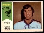 1974 O-Pee-Chee WHA #13  Wayne Rivers  Front Thumbnail