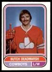 1975 O-Pee-Chee WHA #59  Butch Deadmarsh  Front Thumbnail