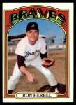 1972 Topps #469  Ron Herbel  Front Thumbnail