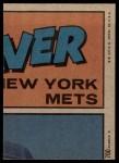 1972 Topps #700   -  Bobby Murcer In Action Back Thumbnail