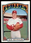 1972 Topps #252  Ken Reynolds  Front Thumbnail