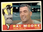 1960 Topps #447  Ray Moore  Front Thumbnail