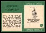 1966 Philadelphia #78   -  George Izo Detroit Lions Back Thumbnail
