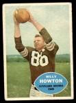 1960 Topps #27  Bill Howton  Front Thumbnail