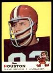 1969 Topps #121  Jim Houston  Front Thumbnail
