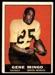 1961 Topps #194  Gene Mingo  Front Thumbnail